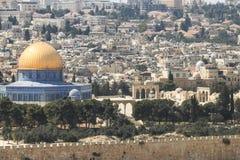 Cupola della roccia a Temple Mount Immagine Stock Libera da Diritti