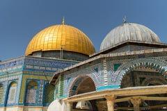 Cupola della roccia Temple Mount Gerusalemme, ISRAELE 20 marzo Fotografia Stock