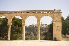 Cupola della roccia Temple Mount Gerusalemme, ISRAELE 20 marzo Immagine Stock