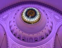 Cupola della sinagoga dentro, Novi Sad, Serbia Fotografia Stock Libera da Diritti