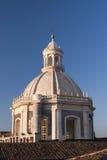 Cupola della st Agatha della chiesa a Catania Sicilia Fotografia Stock Libera da Diritti