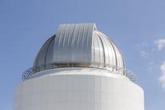 Cupola delle costruzioni del telescopio Immagine Stock Libera da Diritti