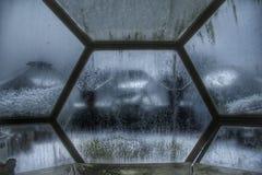 Cupola dello spazio: Esseri umani nello spazio Fotografia Stock Libera da Diritti