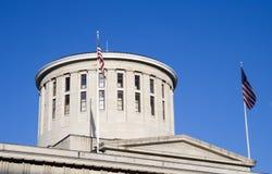 Cupola dello Statehouse dell'Ohio immagine stock libera da diritti