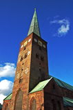 Cupola di Aarhus Fotografie Stock