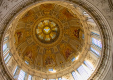 Cupola di Berlin Cathedral Inside Immagine Stock