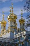 Cupola di Catherine Palace fotografia stock libera da diritti