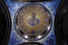 Cupola di Catholikon, Gerusalemme Fotografia Stock Libera da Diritti