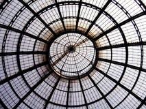 Cupola di cristallo Immagini Stock
