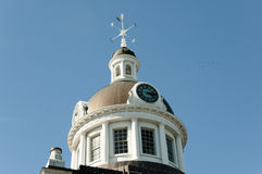 Cupola di Hall Town - Kingston - il Canada fotografia stock