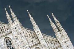 Cupola di Milano Fotografie Stock Libere da Diritti