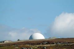 Cupola di radar Fotografie Stock