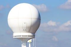 Cupola di radar della nave Immagine Stock