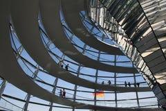 Cupola di Reichstag Berlino Immagine Stock Libera da Diritti