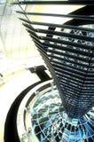 Cupola di Reichstag - Berlino Fotografia Stock Libera da Diritti