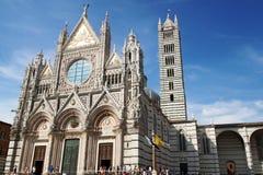Cupola di Siena immagini stock