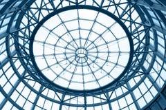 Cupola di vetro Immagini Stock