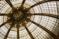 Cupola di vetro macchiato Fotografia Stock