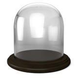 Cupola di vetro vuota Immagine Stock