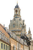 Cupola of Dresden Frauenkirche Stock Photography