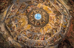 The Cupola of Duomo of Florence, Tuscany, Italy Stock Photography