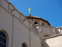Cupola ed incrocio della basilica Immagine Stock Libera da Diritti