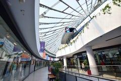 Cupola of the entertainment center KHAN SHATYR in Astana Royalty Free Stock Photos