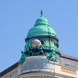 Cupola of the Generali building in Vienna, Austria Royalty Free Stock Photos