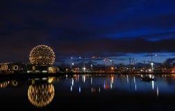 Cupola geodetica del mondo di scienza, Vancouver Fotografia Stock