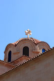 Cupola of greek church Stock Photography