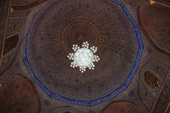 Cupola of Guri Amir Royalty Free Stock Images