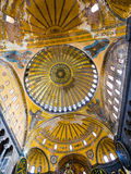 Cupola on Hagia Sophia, Istanbul Royalty Free Stock Photos
