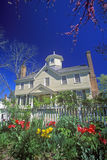 Cupola House. Built in 1758 with Jacobean Architecture, Edenton, NC royalty free stock photography