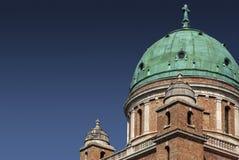 Cupola i wieżyczki na Mirogoj Zdjęcie Stock