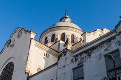 Cupola of Iglesia de la Merced church in San Miguel de Tucuman, Argenti. Na royalty free stock photos