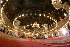 Cupola interna di una moschea immagini stock