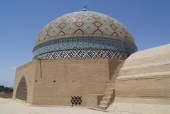 Cupola Jameh meczet, Yazd, Iran Zdjęcia Stock