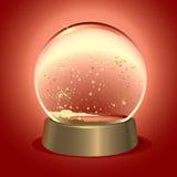 Cupola magica della neve Fotografie Stock