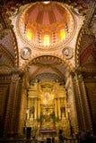 Cupola Messico dell'altare della chiesa di Guadalupita Fotografie Stock