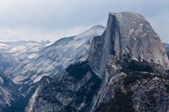 Cupola mezza - parco nazionale di Yosemite Fotografia Stock Libera da Diritti