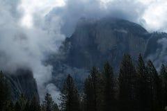Cupola mezza, sosta nazionale del Yosemite Fotografia Stock