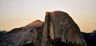 Cupola mezza Yosemite Fotografia Stock