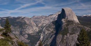 Cupola mezza, Yosemite NP Immagini Stock Libere da Diritti