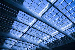 Cupola moderna di vetro di architettura Fotografia Stock Libera da Diritti
