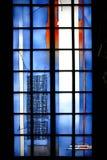 Cupola moderna Mainz della finestra della cappella Fotografia Stock