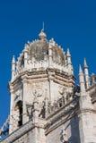 Cupola of monastery of Jeronimos Stock Photo