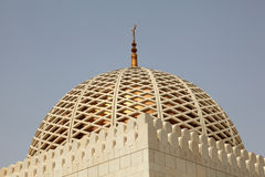 Cupola of a mosque Royalty Free Stock Photos