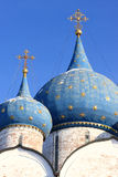 Cupola of the Nativity cathedral Royalty Free Stock Images