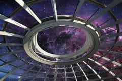 Cupola nell'ambito del giacimento di stella Immagini Stock Libere da Diritti