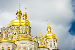 Cupola of Orthodox church Stock Photography